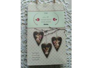 Tilda Tilda Craft Set Velvet Hearts