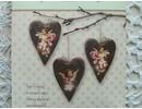Tilda Tilda Craft Set corazones de terciopelo