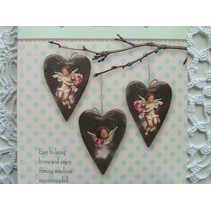 Tilda Craft Set Velvet Hearts
