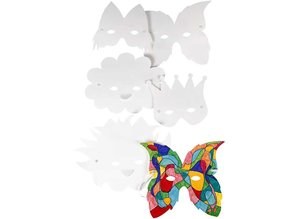 Kinder Bastelsets / Kids Craft Kits i forskellige former - herunder elastik