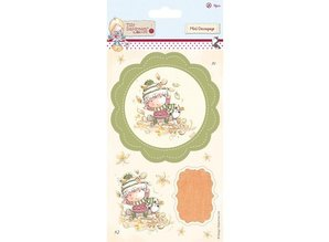 Komplett Sets / Kits Mini Decoupage (13pcs) - Tilly Daydream - Terry