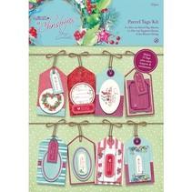 Parcel Tags Kit - Met Kerstmis Lucy Cromwell