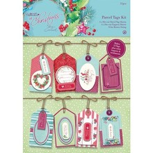 Docrafts / Papermania / Urban Parcel Tags Kit - At Christmas Lucy Cromwell