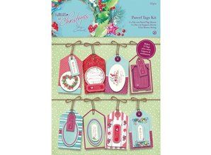 Docrafts / Papermania / Urban Parcel Tags Kit - Ved juletid Lucy Cromwell