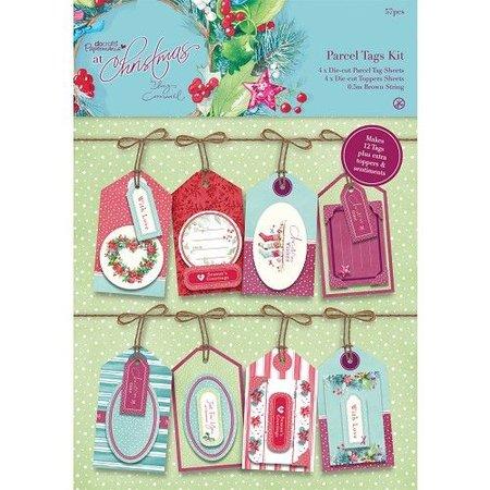 Docrafts / Papermania / Urban Parcela Etiquetas Kit - En Navidad Lucy Cromwell