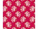 Tilda Cotton Bedstemors rosa, rød, 50 x 70 cm, 100% bomuld