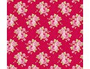 Tilda Cotton Grandma's rose, red, 50 x 70 cm, 100% cotton