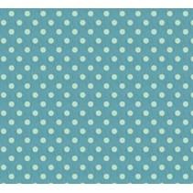 Baumwolle, 50 x 70cm, Big spot blue, 100% Baumwolle.