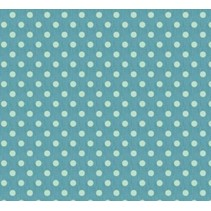 Cotton, 50 x 70cm, big blue spot, 100% cotton.