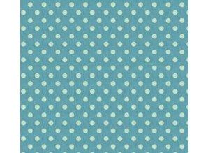 Tilda Tilda Cotton, 50 x 70cm, stor blå plet