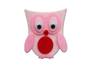 Kinder Bastelsets / Kids Craft Kits Kids Craft Kit: Pretty Felt Owls