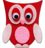 Kinder Bastelsets / Kids Craft Kits Kids Bastelset: Hübsche Filz Eulen