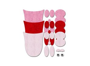Kinder Bastelsets / Kids Craft Kits Gufi Abbastanza feltro: Bambini Craft Kit