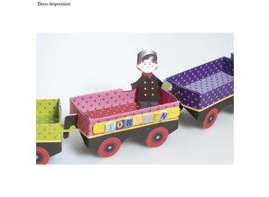 Kinder Bastelsets / Kids Craft Kits Christmas Train Craft Kit - Christmas Train - Copy