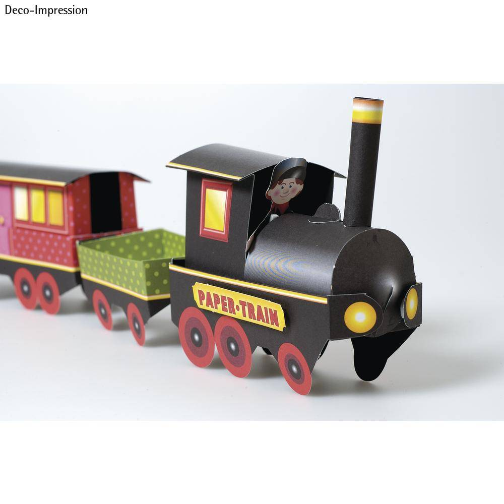 Christmas Train Craft Ideas