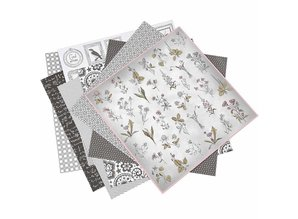 DESIGNER BLÖCKE  / DESIGNER PAPER 1 pack of 6 different styles, sheet 30.5 x 30.5 cm