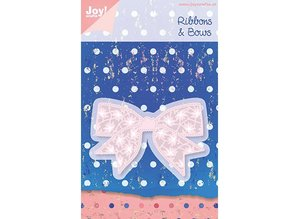 Joy!Crafts und JM Creation Joy Crafts, stamping and embossing template 6002 0183, Ribbons & Bows, 80.5 x 54mm