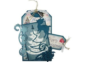 Joy!Crafts und JM Creation Joy Crafts, punching and embossing & Embroideryschablone, 6002 2008, Christmas Tree
