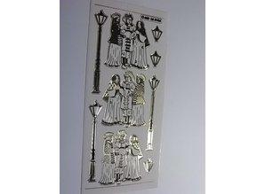 Sticker Adesivo decorativo è impresso in modo molto dettagliato, 10 x 23 centimetri.