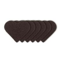 """Sørgeligt enhed """"hjerteanfald"""" + 3 stykker af sandpapir i form af hårde"""