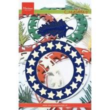 Marianne Design Stampaggio e goffratura stencil, stella gru LR0126