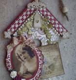 Objekten zum Dekorieren / objects for decorating træ til at dekorere 2 birdhouses