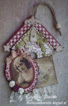 Objekten zum Dekorieren / objects for decorating in legno per decorare 2 nicchie