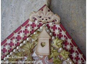 Objekten zum Dekorieren / objects for decorating wooden to decorate 2 birdhouses