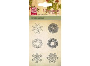 Cart-Us Cart Us, Transparante stamp, ice crystals, 6 designs