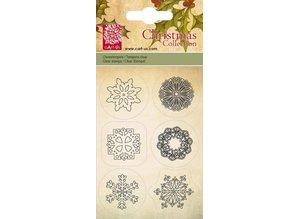 Cart-Us Cesta con nosotros, sello transparante, cristales de hielo, 6 diseños