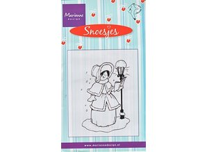 Marianne Design Gennemsigtige frimærker, Snoesjes, Caroler