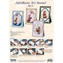 Artesanía Kits, NoteCards Hummel, de 4 tarjetas.