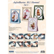 Handcraft Kits, Hummel NoteCards, for 4 cards.