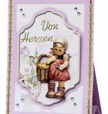 BASTELSETS / CRAFT KITS: Bastelset, Hummel-Aufstellkarten, für 4 Karten.