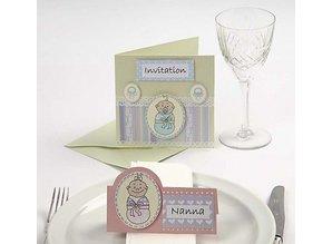 KARTEN und Zubehör / Cards Sæt af 10, meget smuk perlemor kort og kuverter, kort str. 12,5 x12, 5 cm, pastel farver!