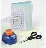 KARTEN und Zubehör / Cards 10er Set, sehr hübsche Perlmuttkarten und Umschläge, Kartengröße 12,5x12,5 cm, pastellfarben!