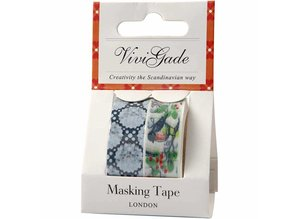 Komplett Sets / Kits Self Washitape / papir tape med en mat finish i Vivi Gade Design
