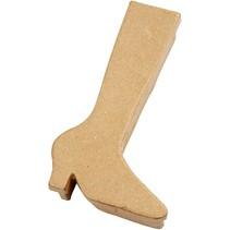 Caja con botas forma, H: 23 cm, 1 pc.