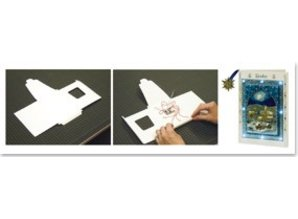 KARTEN und Zubehör / Cards LED kort med kuvert A6 B6