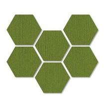 Sizzix Skæreskabelon - Hexagon 1.8 cm