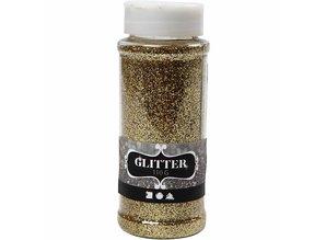 BASTELZUBEHÖR / CRAFT ACCESSORIES Glitter, gold, 110 g