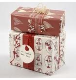 Embellishments / Verzierungen 10 gave-tags lavet af kraftigt pap