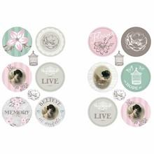 Embellishments / Verzierungen Self-adhesive Sticker Scene