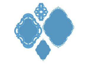Marianne Design Marianne Design, Petra ornamenter, 13x19cm, LR0279
