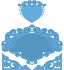 Marianne Design Marianne Design, Petra hjerte, 15x16cm, LR0280
