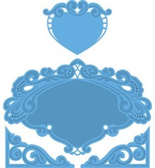 Marianne Design Marianne Design, Petra's heart, 15x16cm, LR0280