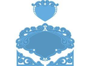 Marianne Design Marianne Design, el corazón de Petra, 15x16cm, LR0280