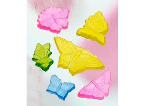 GIESSFORM / MOLDS ACCESOIRES Seifengießform con 6 mariposas, 5-12cm