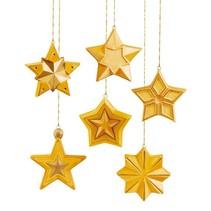 Schimmel: volledige vorm van sterren, 8x8x2, 5cm, 6 stuks.