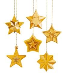 GIESSFORM / MOLDS ACCESOIRES Moho: Formulario lleno de estrellas, 8x8x2, 5 cm, 6 piezas.